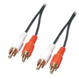 Twin Phono Lead 1.2m