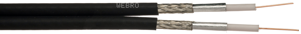 Webro WF65 CAI Twin Cable