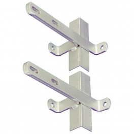 Galvanised Chimney Lashing Bracket (Pair)