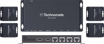 Technomate 4 Output UTP Splitter POE Kits